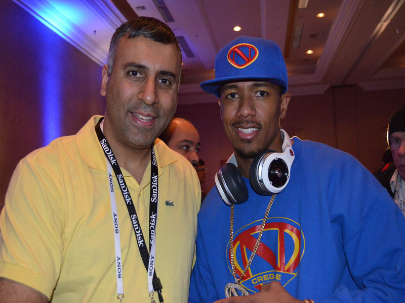 Dr.Abbey with Nick Cannon TV Personality and Host