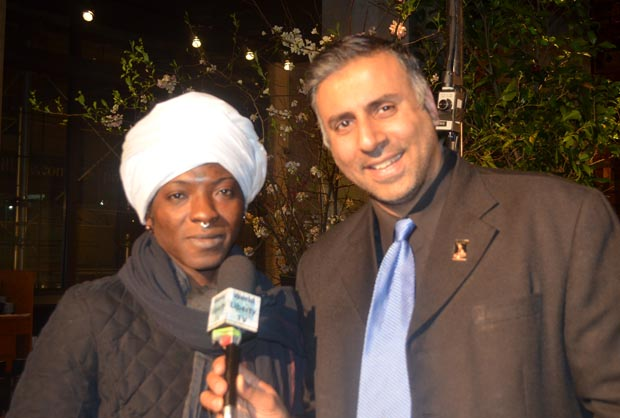Dr.Abbey with NiiLartey De Osu , Designer