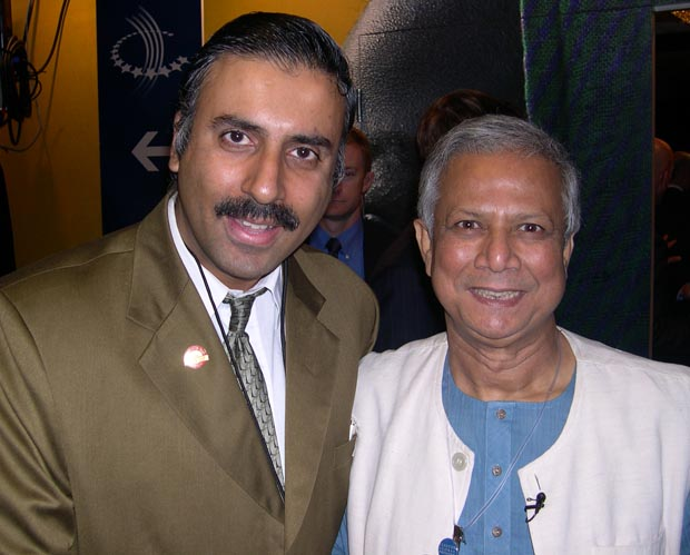Dr.Abbey with Nobel Paece Prize Winner Mohammed Yunus