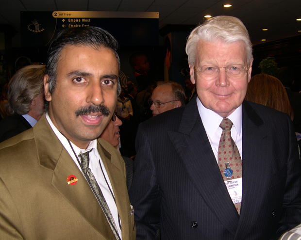 Dr.Abbey with Olafur Grimson,President of Iceland
