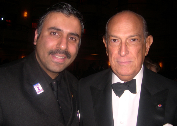 Dr.Abbey with Oscar De La Renta, World Famous Designer 2009