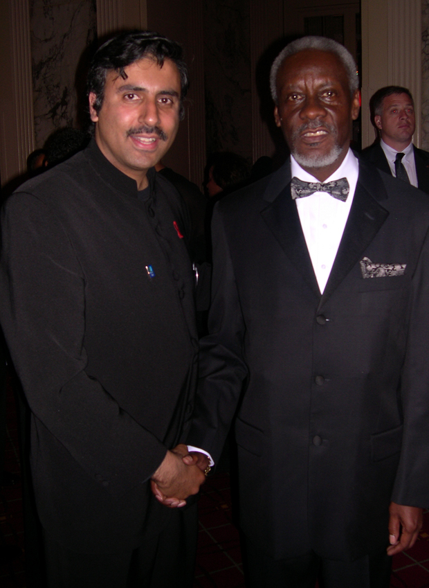 Dr.Abbey with PJ Patterson,Former Prime Minister of Jamaica