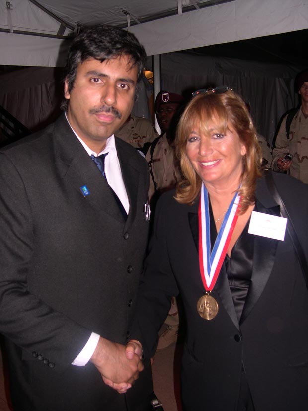 Dr.Abbey with   Penny Marshall Actress Producer  and  Director