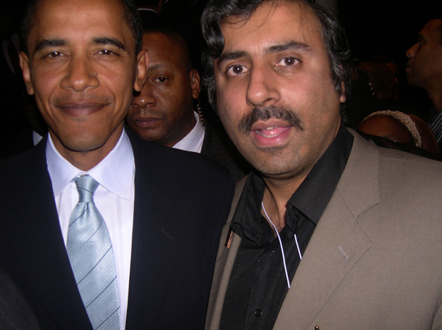 Dr.Abbey with President   Barack Obama