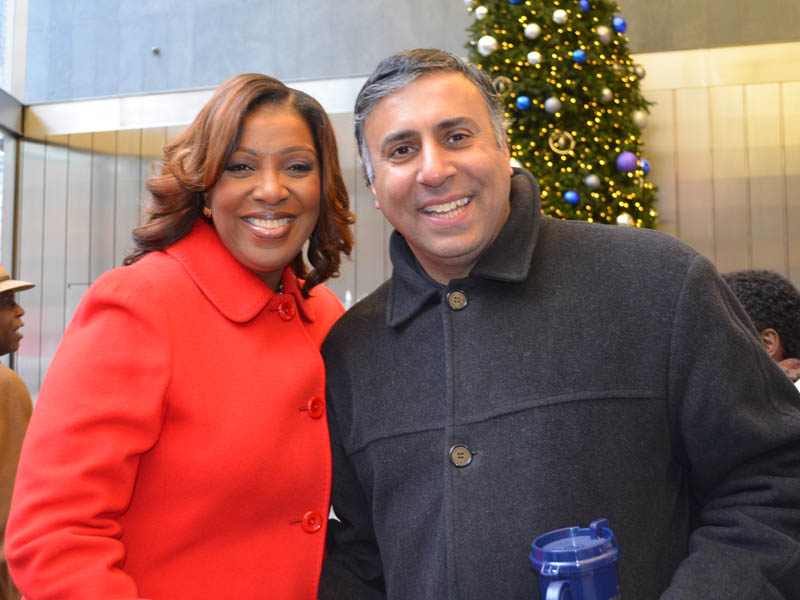 Dr.Abbey with Public Advocate Letitia  Tish James