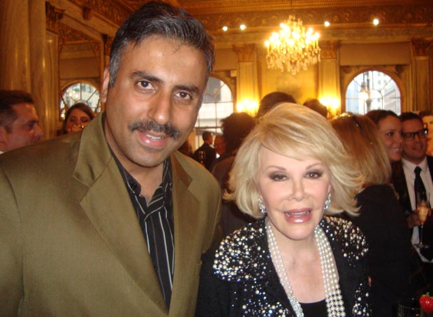 Dr.Abbey with Queen of Comedy Joan Rivers  2010
