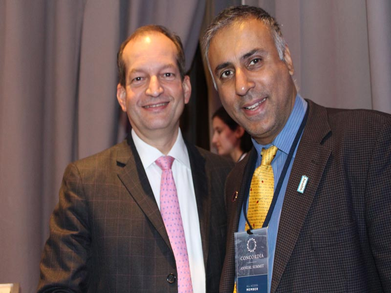 Dr.Abbey with R. Alexander Acosta US Secretary of Labor