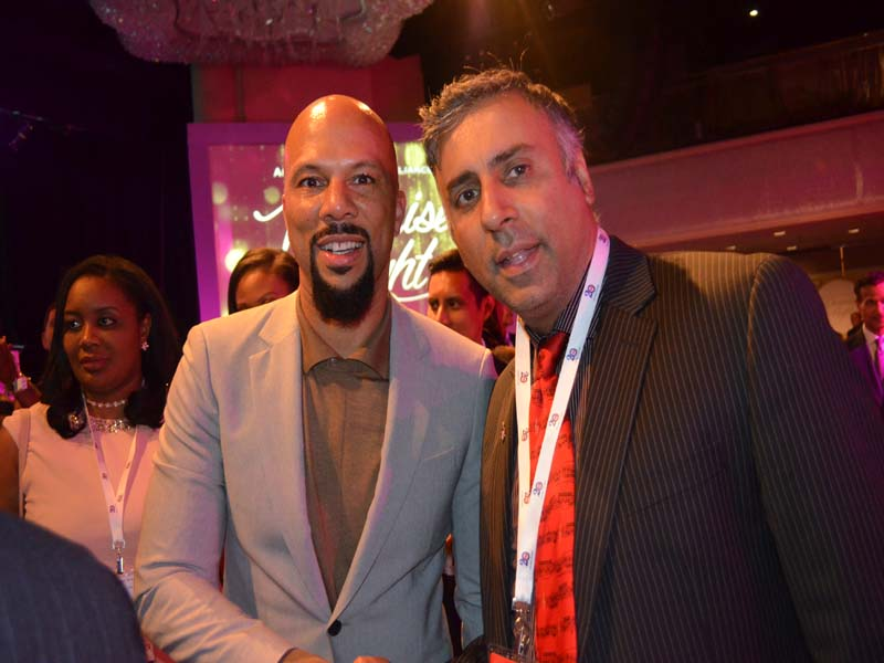 Dr.Abbey with Rapper Common