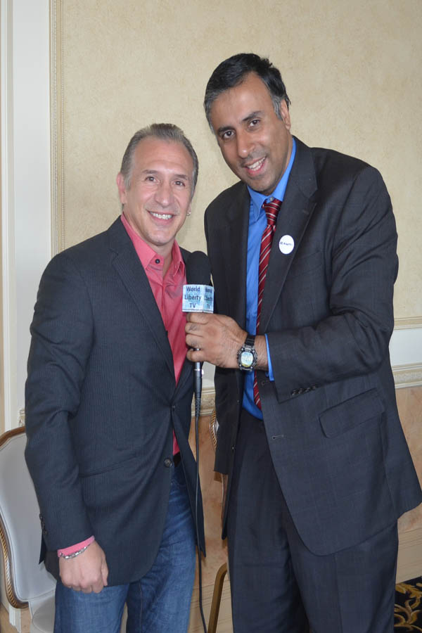 Dr.Abbey with Rayy Boom Mancini