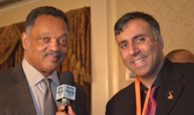 Dr.Abbey with Rev Jackson