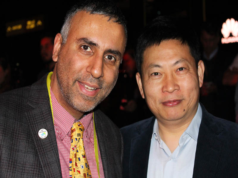 Dr.Abbey with Richard Chengdong Yu CEO Huawei