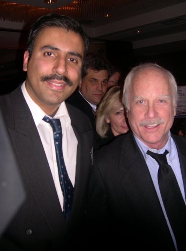 Dr.Abbey with Richard Dreyfuss Actor