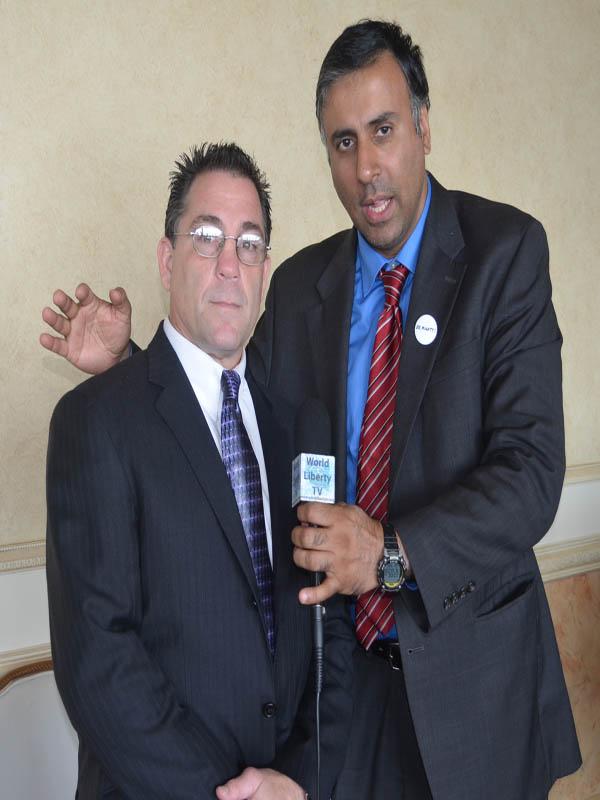 Dr.Abbey with Ring 10 President, Matt Farrago