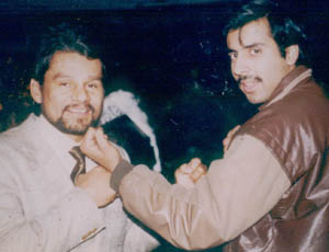 Dr.Abbey with Roberto Duran Greatest Latin Figher Ever