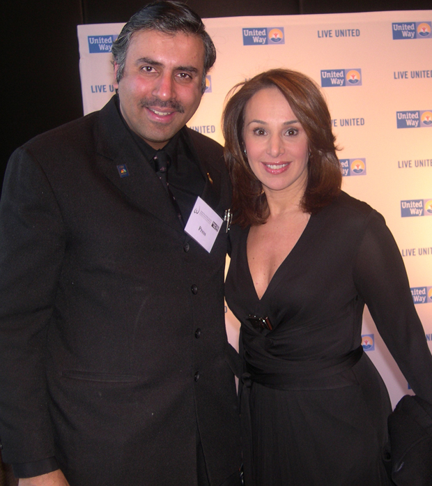 Dr.Abbey with Rosanna Scotto of Fox 5 News