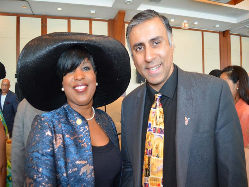 Dr.Abbey with Roslyn M. Brock  Chairman of Board of Directors of NAACP