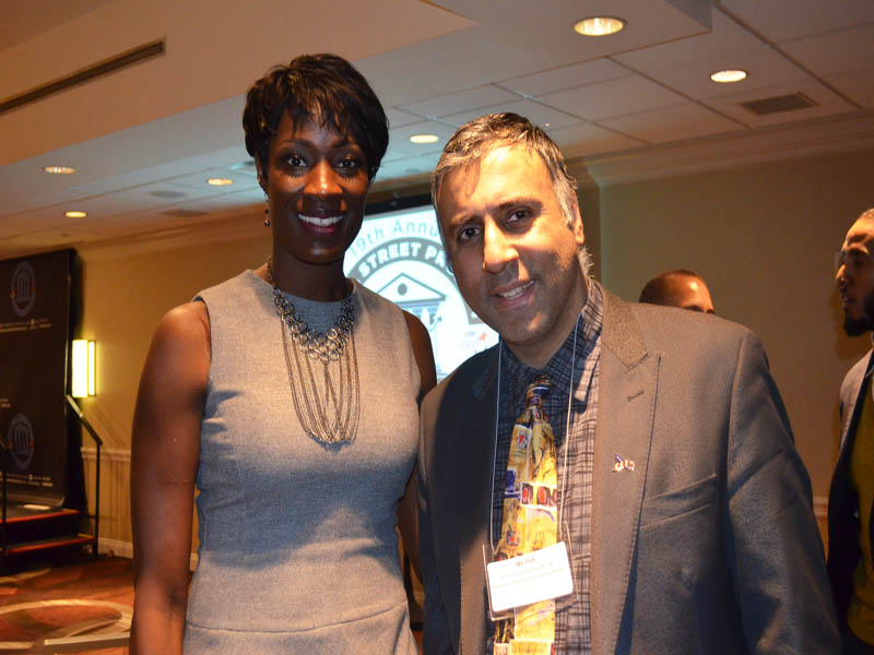 Dr.Abbey with Rusia Brown President WNBA Alumni Association