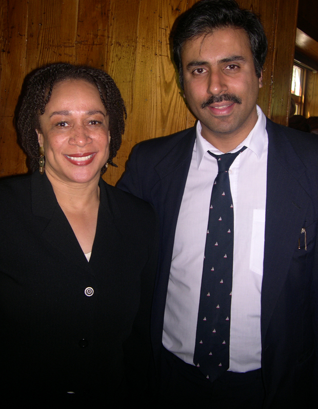 Dr.Abbey with S Epatha Merkerson  of Law and  Order