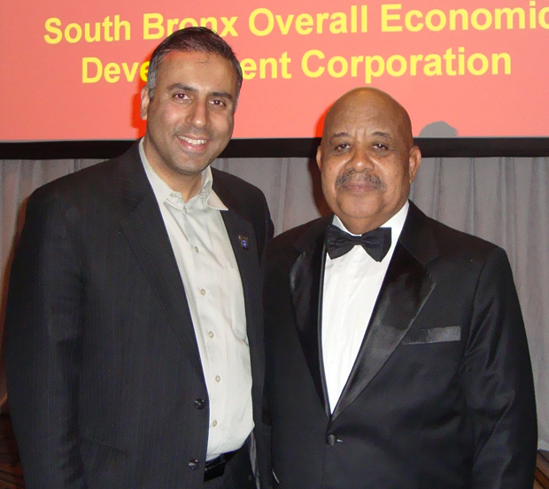 Dr.Abbey with SOBRO President  Phillip Morrow