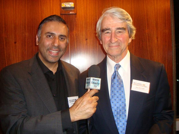 Dr.Abbey with Sam Waterson Actor