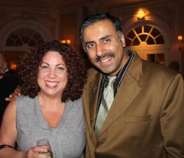 Dr.Abbey with Sandra A. García-Betancourt CEO of Northern Manhattan Arts Alliance