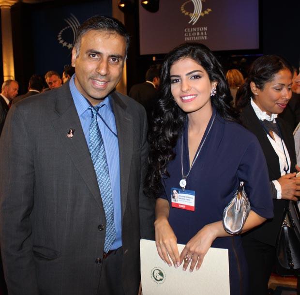Dr.Abbey with Saudi Arabian Princess Ameerah Al-Taweel