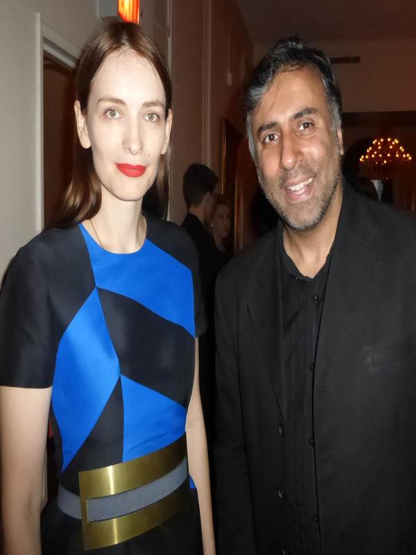 Dr.Abbey with Serbian Designer Roksanda Ilincic