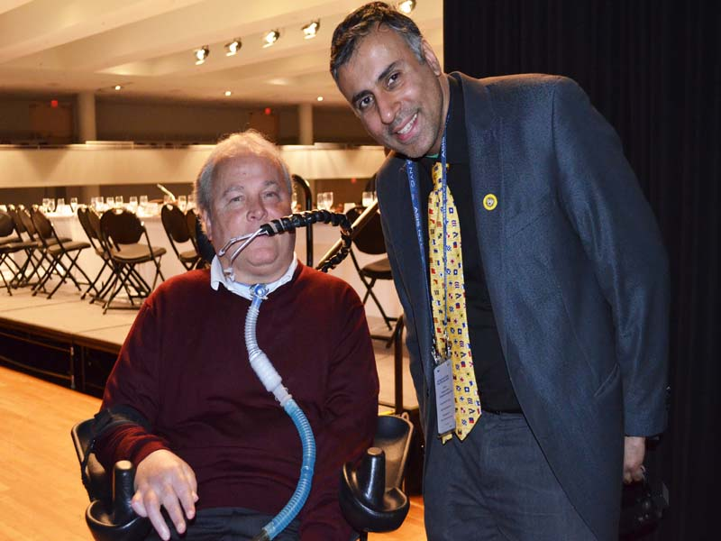 Dr.Abbey with Shot NYPD officer Steven McDonald