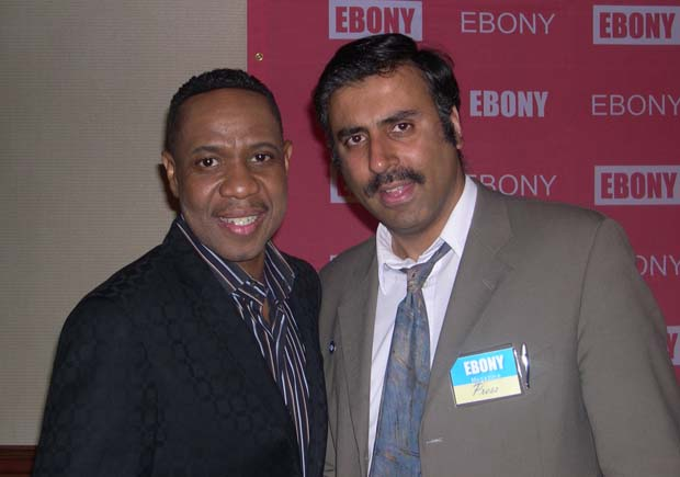 Dr.Abbey with  Singer Freddie Jackson