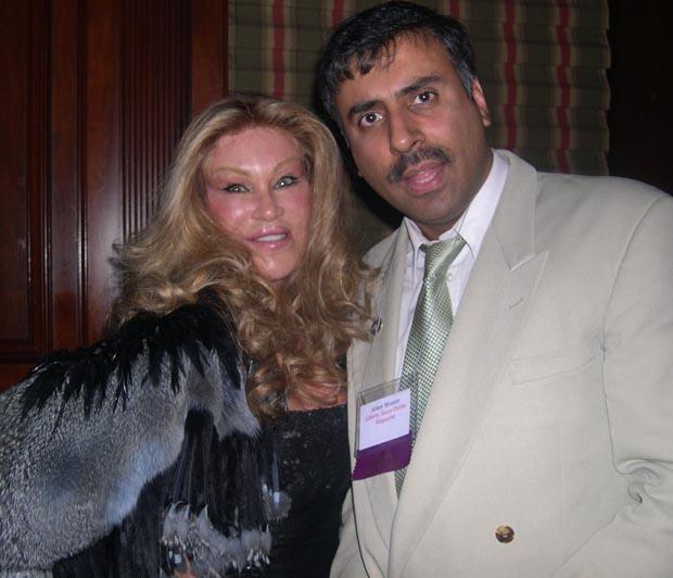 Dr.Abbey with Socalite Jocelyn Wilberstein