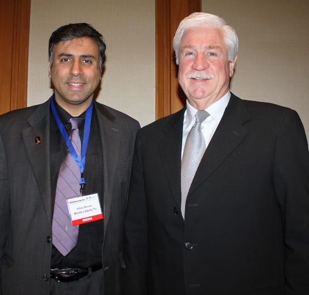 Dr.Abbey with Stephen W. Wade ,Former President National Automobile Dealers Association