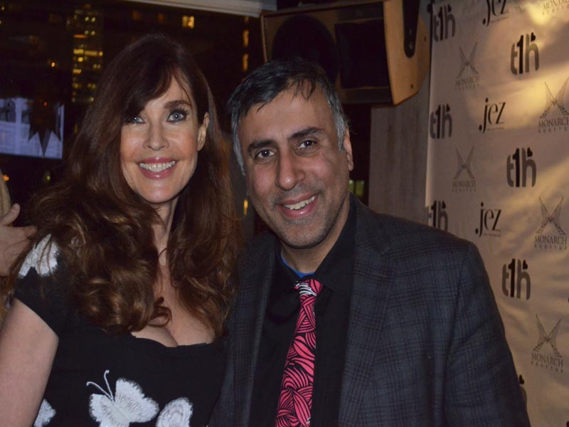 Dr.Abbey with Super Model Carol Alt