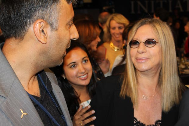 Dr.Abbey with Superstar Barbara Streisand