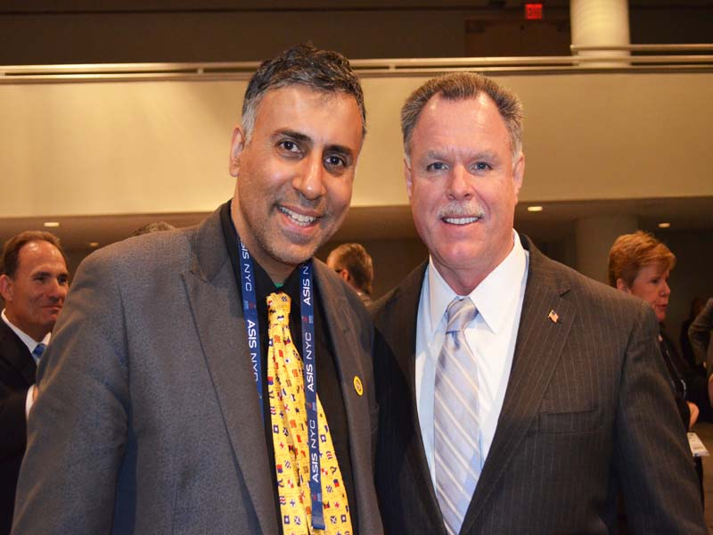 Dr.Abbey with Supt. Garry McCarthy of Chicago Police Dept