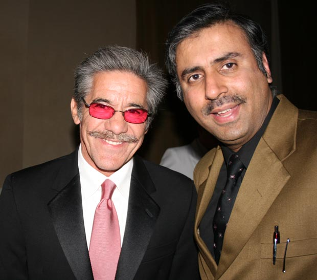 Dr.Abbey with Talk Show Host Geraldo Rivera