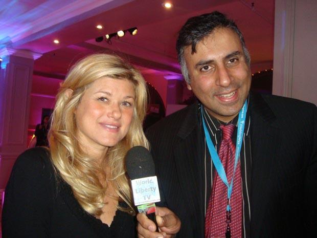 Dr.Abbey with Tatiana Byron, founder of Wedding Salon