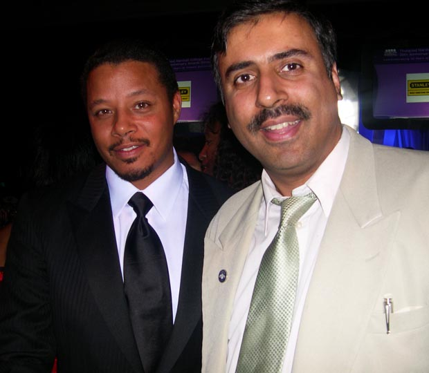 Dr.Abbey with Terrance Howard Academy Award nominated Actor
