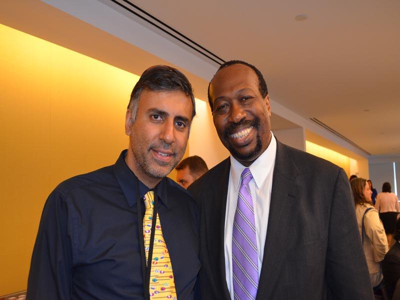 Dr.Abbey with Terrence Clark President & Ceo NY NJ Min Biz Council