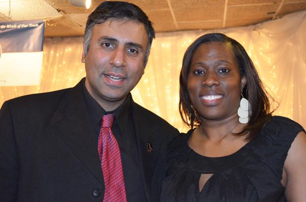 Dr.Abbey with Terryl Ebony De Mendonca Founder & Exec DirectorMYDC