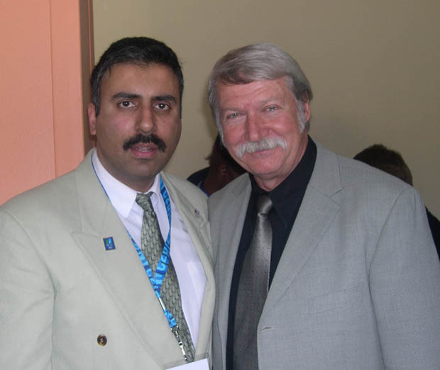 Dr.Abbey with The  Greatest  Gymanist Coach  Ever Bela Karolyi