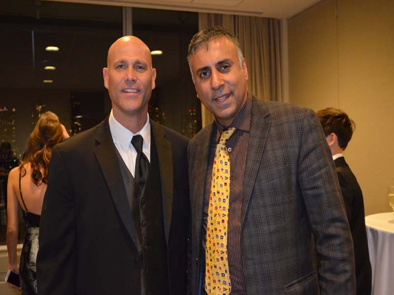 Dr.Abbey with Tim Hudson MLB Player