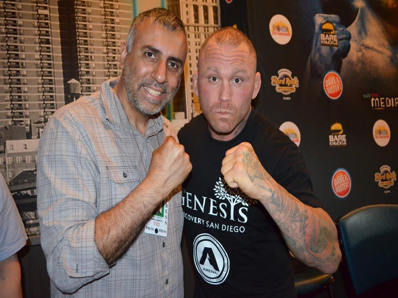 Dr.Abbey with UFC Veteran Chris Leben