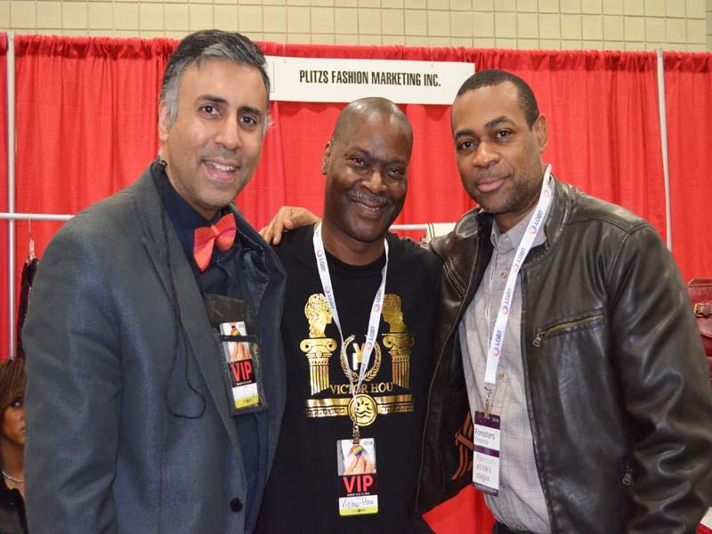 Dr.Abbey with Victor Hou Designer & Wayne Shields Plitz MKTG