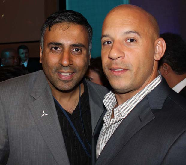 Dr.Abbey with Vin Diesel Actor