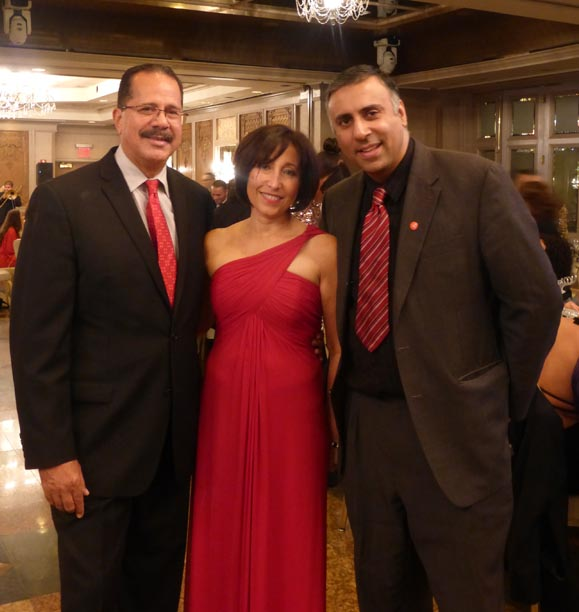 Dr.Abbey with Vivian Torres Suarez .President NAHN & her Husband