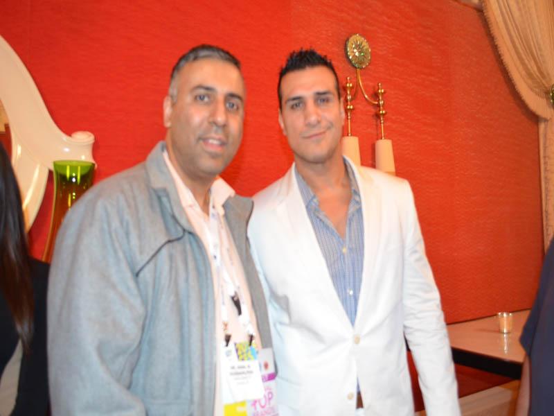 Dr.Abbey with WWE Superstar Alberto Del Rio