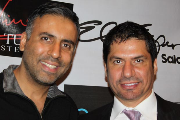 Dr.Abbey with Walid Atallah Designer from Dubai
