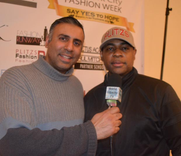 Dr.Abbey with Wayne Sheilds Founder Plitzs Fashion Week