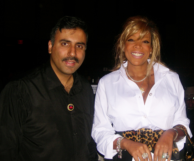 Dr.Abbey with Wendy Williams Talk Show Host