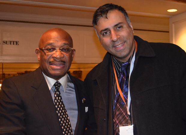 Dr.Abbey with Willie Gary World Renowned Attorney